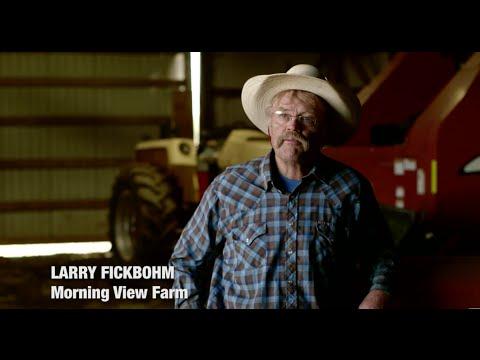 Larry Fickbohm- Farmer in Port Wing, Wisconsin