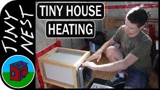 """[ep 34.1: Additional Furnace Info] Tiny House Project """"tiny Nest"""""""