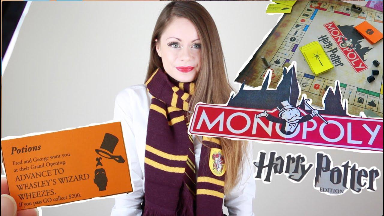 diy harry potter monopoly halloween 2015 sue rose youtube solutioingenieria Images
