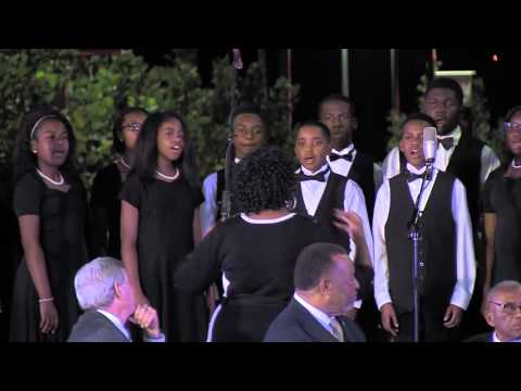 Johnnie Carr Choir Middle School Choir Performs at Bus Boycott Celebrations