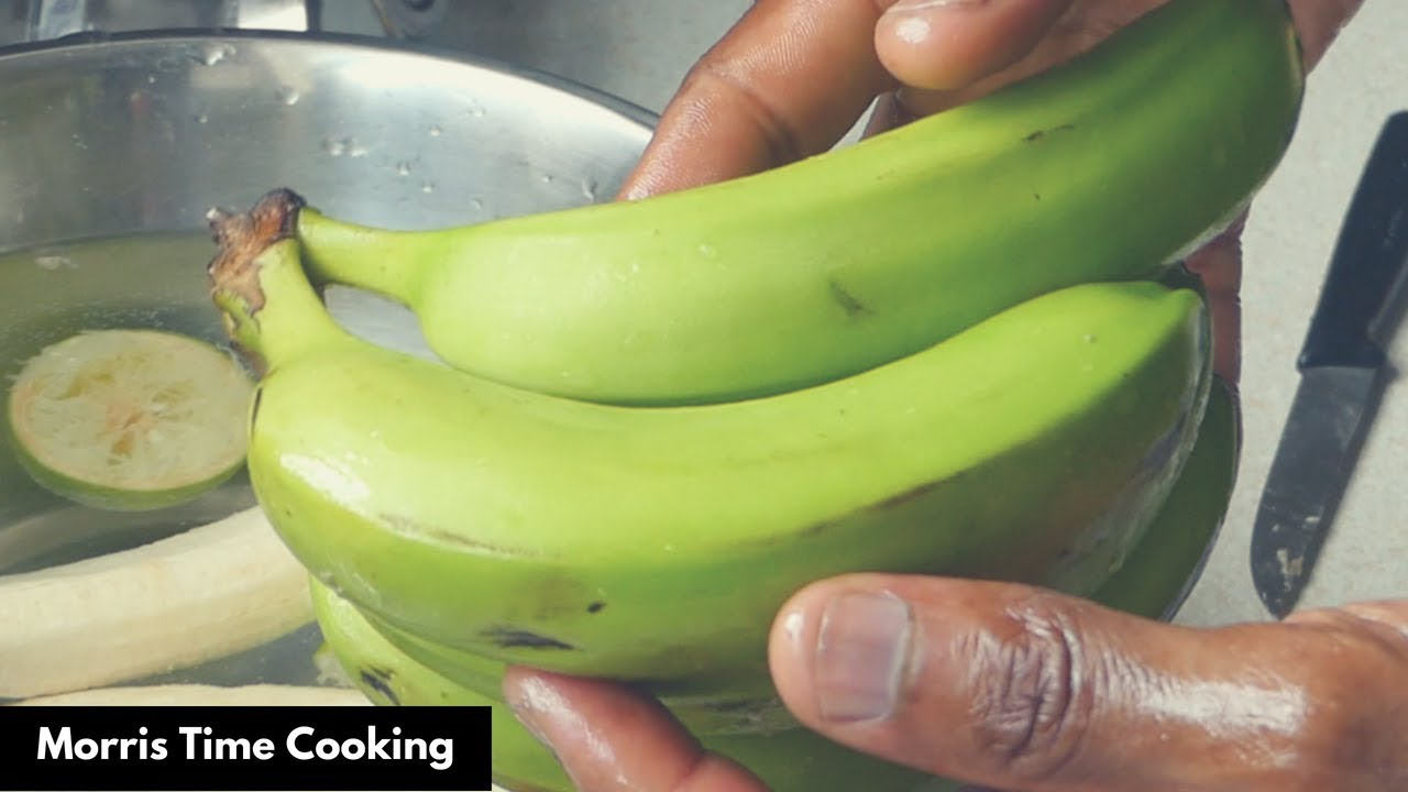 Download Easiest Way To Peel Green Bananas  For Cooking | Lesson #138 | Morris Time Cooking
