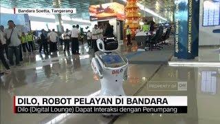 Perkenalkan Ini Dilo, Robot Pelayan di Bandara Soetta