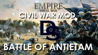 150th Anniversary of the Battle of Antietam: Empire Total War - The Blue and the Grey Mod