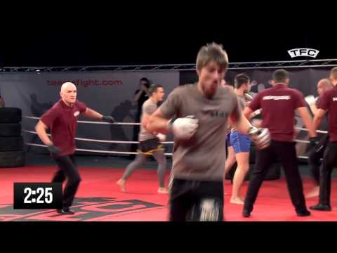 MMA бойцы 5 на 5 Россия против Чехии