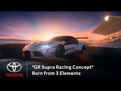 """GR Supra Racing Concept"" Born from 3 Elements 