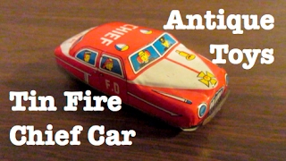 Antique Tin Toys - Retro Treasures, Antiques and other Cool Things