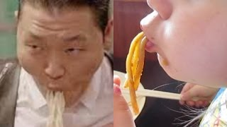 eating noodles like psy   day 647