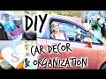 DIY Car Decor & Organization!