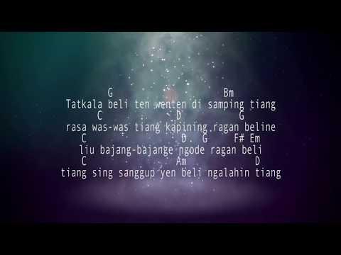 Ulian Tiang Sayang Putri Bulan Chord & Lirik(Nada dasar G)