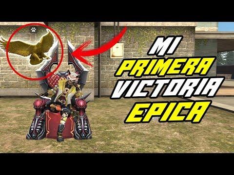 MI PRIMERA VICTORIA EN LA NUEVA ACTUALIZACION DE FREE FIRE *epico* | ZenDiego