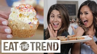 How to Make Funfetti Cookie Cups with Megan Batoon! | Eat the Trend