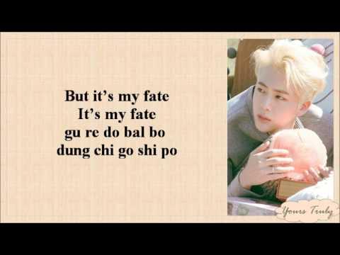 BTS (방탄소년단) JIN - AWAKE [EASY LYRICS]