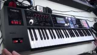 mmag.ru: Roland FA-06 - синтезатор, музыкальная рабочая станция