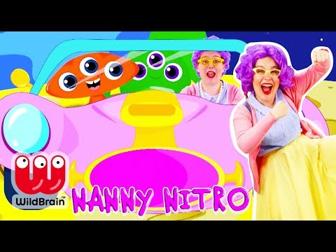Let's Drive - Driving In My Car Song | Nursery Rhymes And Songs For Children 👵🏻 NANNY NITRO 👵🏻