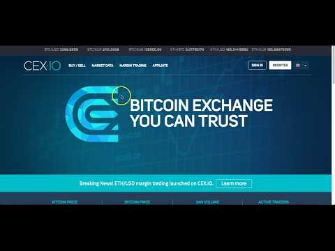 Buying Bitcoin from CEX.IO