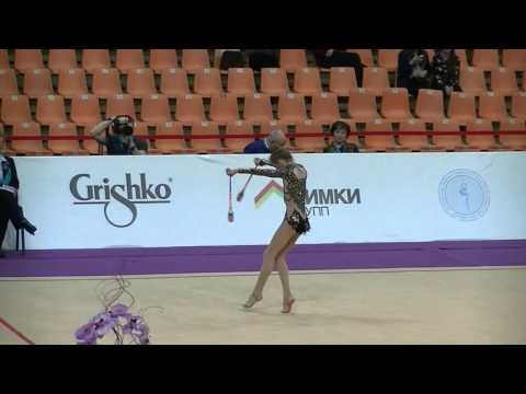 Ntrikou Evagelia (GRE)  clubs Grand Prix Moscow-Alina Cup 2016 qual. jun.