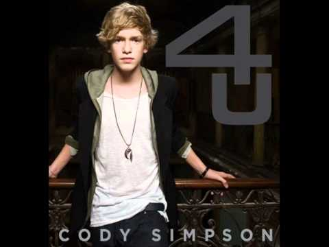 Hasil gambar untuk cody simpson don't cry your heart out cover