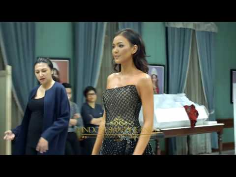 Kezia Warouw Miss Universe 2016 Evening Gown Kejora by Ivan Gunawan