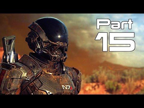 Mass Effect Andromeda Gameplay Walkthrough Part 15- Settling Kadara / High Noon (XBOX ONE / PS4)