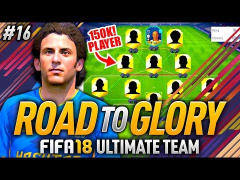 FIFA 18 ROAD TO GLORY #16 - HE COST 150K COINS! 😱