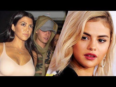Justin Bieber STILL Sneaking Around with Kourtney Kardashian BEHIND Selena Gomez's Back!!?