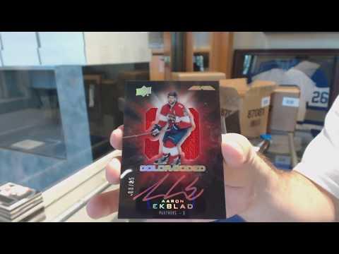16-17 Upper Deck Black Hockey 5 Box Case Break - C&C GB #8735