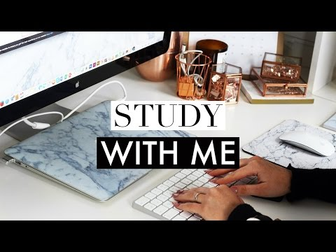 Study With Me #5 ♡ Real Time Studying Session (Essay Writing)