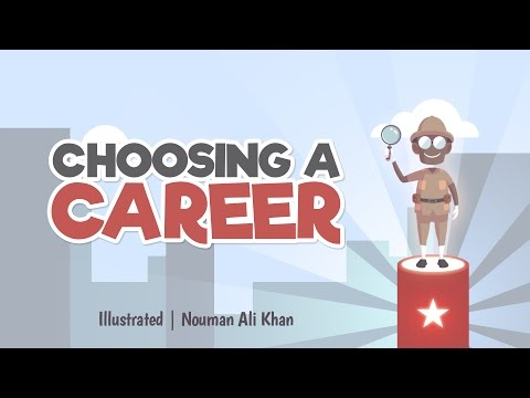 Choosing a career | Nouman Ali Khan | illustrated | Subtitle