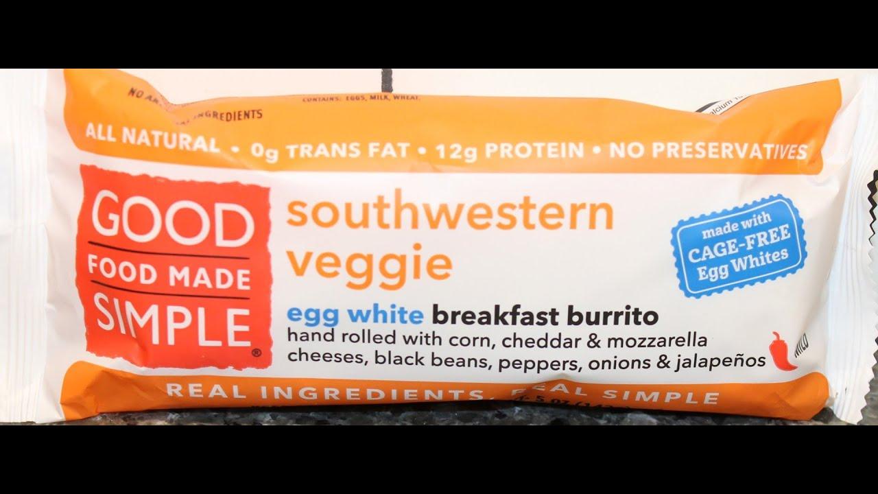 Good Food Made Simple Breakfast Burrito
