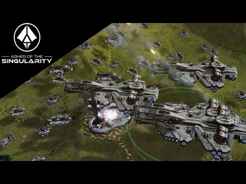 Ashes of the Singularity - Giant Armies and Mass Dreadnaughts