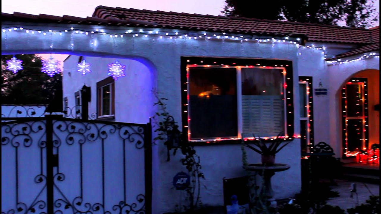 christmas led lights dripping icicle lights youtube - Best Led Christmas Lights