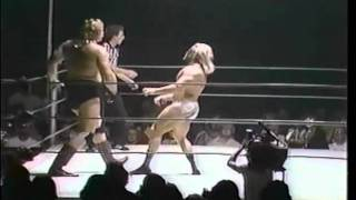 CWF Classic Wrestling Kevin Sullivan w/ woman vs Blackjack Mulligan