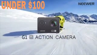 10 impressive budget cheapest 4k action cameras to buy under $100 in 2020 (amazon)😱