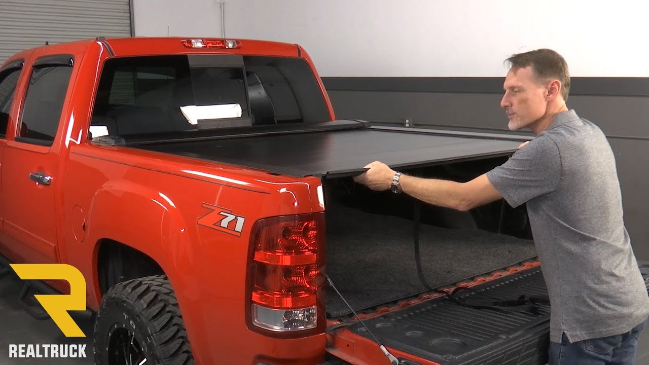 How To Install Pace Edwards Switchblade Metal Tonneau Cover On A 2007 2013 Chevy Silverado Youtube