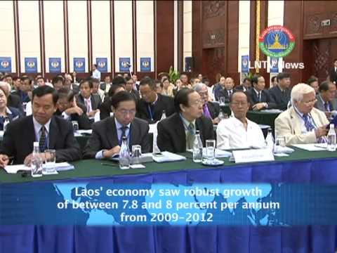 Lao NEWS on LNTV-Laos' economy saw robust growth of between 2009-2012. 4/6/2013