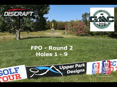 FPO Round 2, Front 9: Discraft's Green Mountain Championship