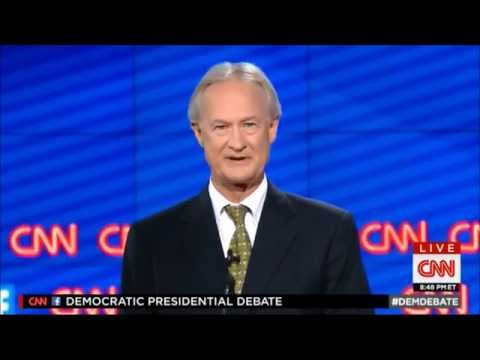 FULL: Lincoln Chafee Responses at CNN Democratic Presidential Debate (10-13-2015)