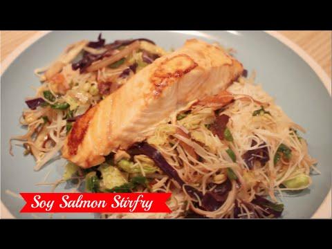 Soy Salmon Stir Fry Recipe