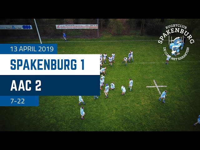 RC Spakenburg 1 - AAC 2 | 7-22 | 4K