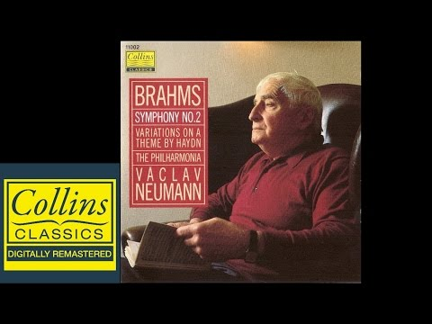 Brahms - Symphony No.2 and Variation on a Theme by Haydn - Václav NEUMANN - Philharmonia Orchestra