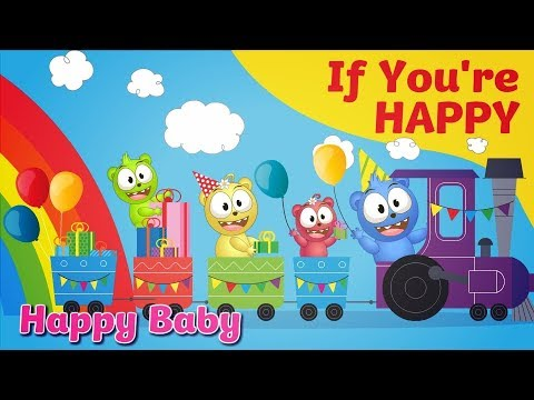 If You're Happy And You Know It - Nursery Rhymes For Children, Kids And Toddlers