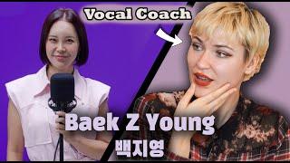 Download BAEK Z YOUNG (백지영) - Dingo Music Killing Voice (의킬링보이스) - Vocal Coach & Professional Singer Reaction