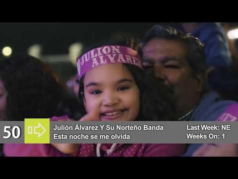 Top 50 Billboard Hot Latino Songs the week of 1 July 2017 № 1