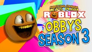 Roblox Obbys - Stagione #3 [Annoying Orange Gaming]