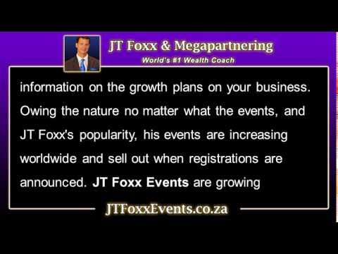JT Foxx Events   Continuing education is a real concern for business owners