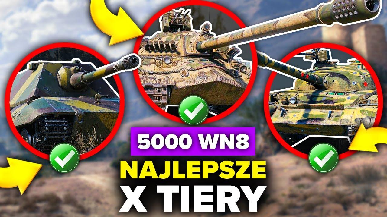 NAJLEPSZE CZOŁGI w World of Tanks - Jaka LINIA na START?