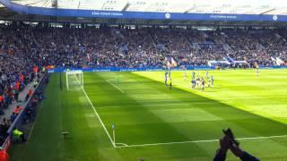Leonardo Ulloa Penalty / Leicester City v West Ham / 2-2 / 17/04/16