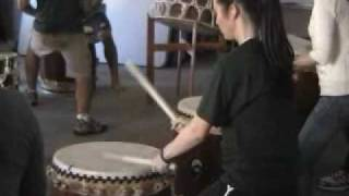 Learning Taiko Drums