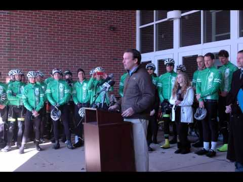 Rally Held At Reed Intermediate School For Team 26
