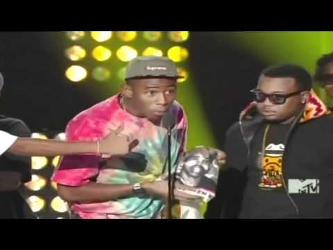 Tyler the Creator Winning Best New Artist! (2011)